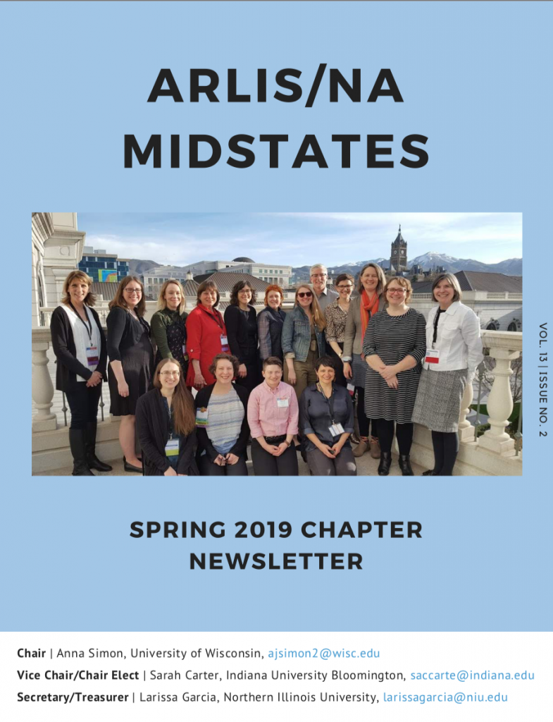Spring 2019 Newsletter Cover